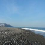 晴天の須沢海岸