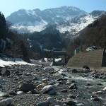 小滝川の雪解け