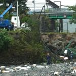 復旧工事 青海川
