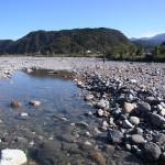 秋晴れの姫川
