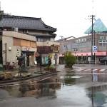 糸魚川駅前風景