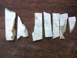 翡翠原石 白