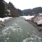 小滝川の残雪