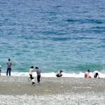 観光客で賑わう宮﨑海岸