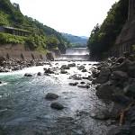 大所川の清流