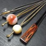 簪と笄 名古屋骨董祭