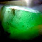 ロウカン翡翠 透過光