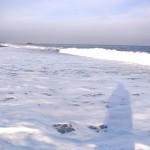 宮﨑海岸の白波