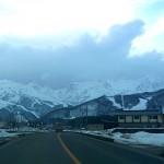 白馬の雪景色