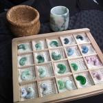 勾玉と茶碗 moriさん製作