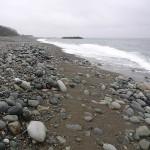 雨の宮﨑海岸