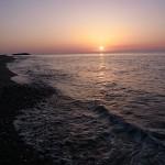 夕日 宮﨑海岸東
