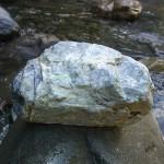 青海川の成果 灰色翡翠