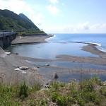 青海川の河口