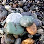 薬石とネフライト 宮﨑海岸