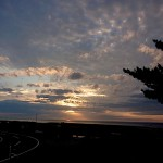 宮﨑海岸の夕焼け
