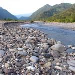 早朝の姫川