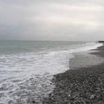 早朝の須沢海岸