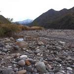 晩秋の姫川