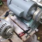 小割切断機の修理