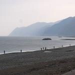 宮﨑海岸の釣り人