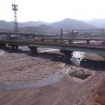 青海川・河口付近の様子