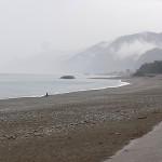小雨の宮﨑海岸