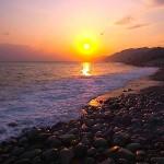 宮﨑海岸の日の出
