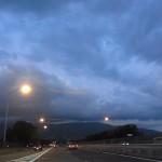 長野自動車道 塩尻付近