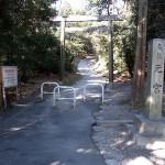 元宮への入り口