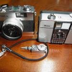 購入したカメラ ヤシカエレクトロ35  リコーオートハーフE