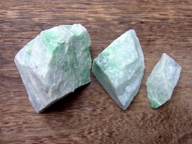 翡翠原石 緑