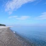 夏の宮崎海岸