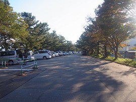 宮崎海岸駐車場