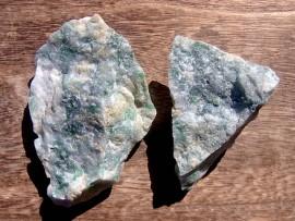 圧砕翡翠原石