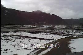 姫川 根知川合流点