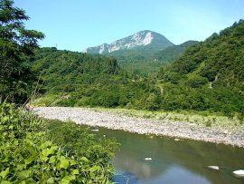 姫川と明星山