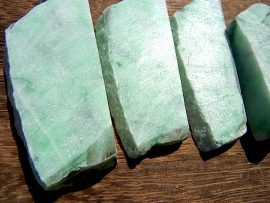 翡翠板 薄緑