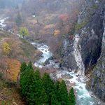 小滝川 翡翠峡遠望