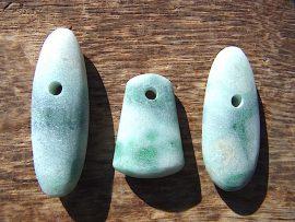 大珠 緑斑