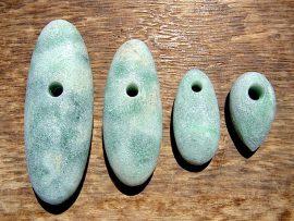 大珠 垂飾 緑翡翠