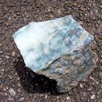 翡翠原石 小滝川の圧砕緑翡翠