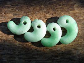 緑勾玉 大所の緑翡翠