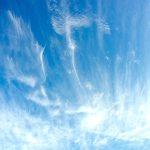 たなびく雲 宮崎海岸