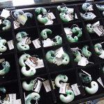 圧砕翡翠の緑勾玉 Tさん