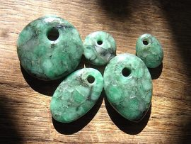 垂飾 エメラルド原石
