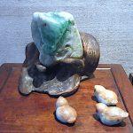 上質綠翡翠 ヒスイ原石館