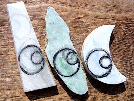 糸魚川翡翠の板