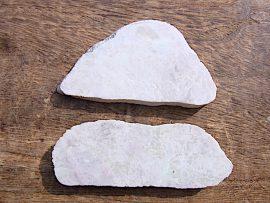 桃簾石の板