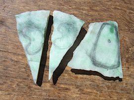 翡翠板 上質緑翡翠